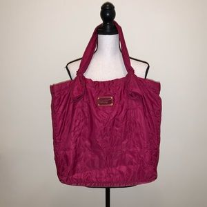 Marc Jacobs Pink Quilted Tote Bag